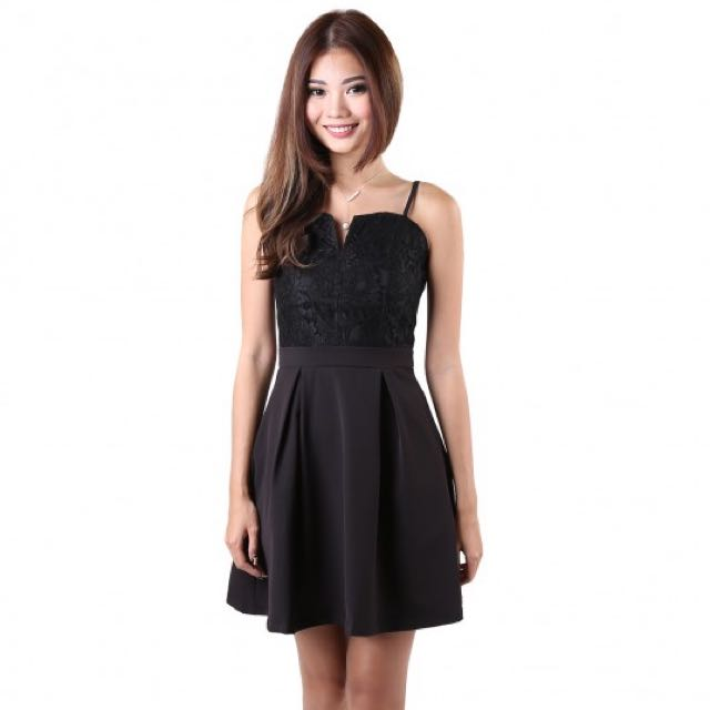 BNIB MGP - Prive Lace Dress in Black (Size: M)