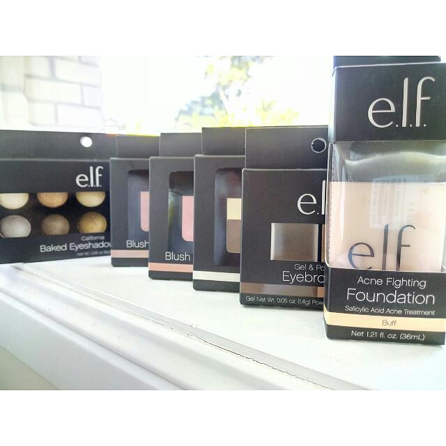 Brand New ELF Products