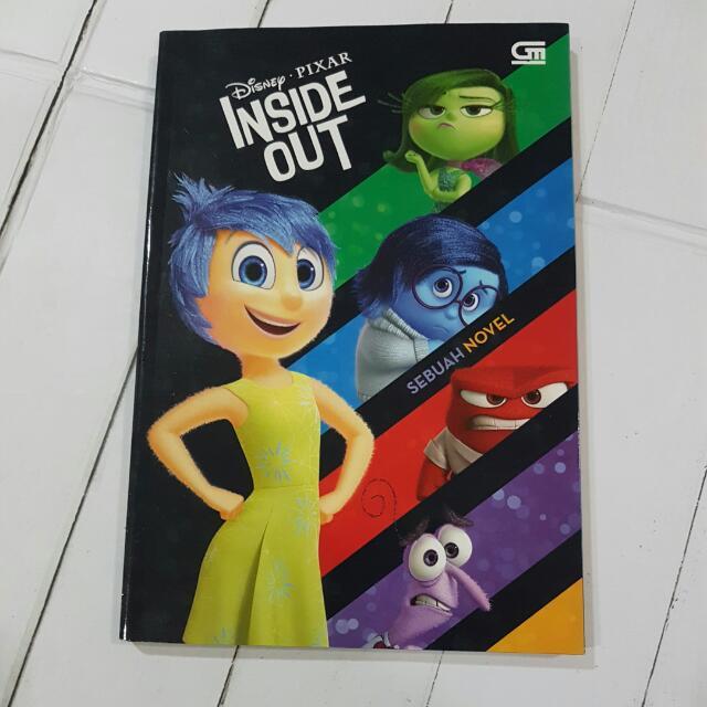 Buku Anak Inside Out Disney