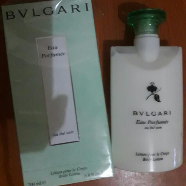 BVLGARI Eau Parfumee Au The Vert Lotion Pour Le Corps