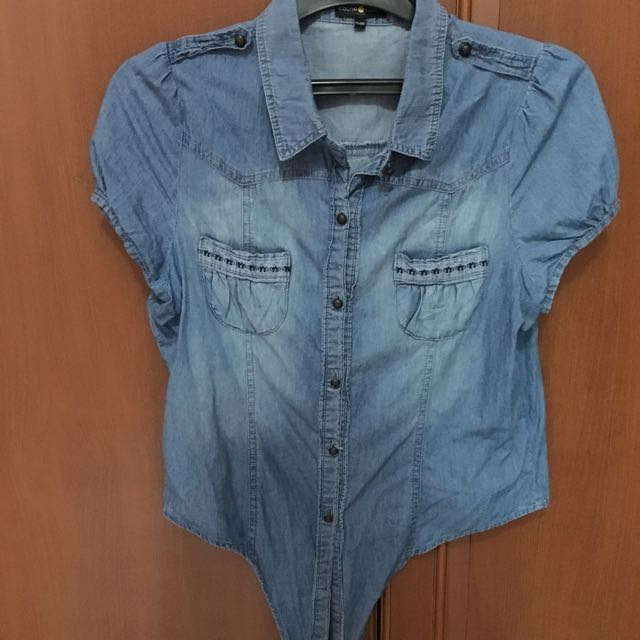 Cache Cache Denim Shirt