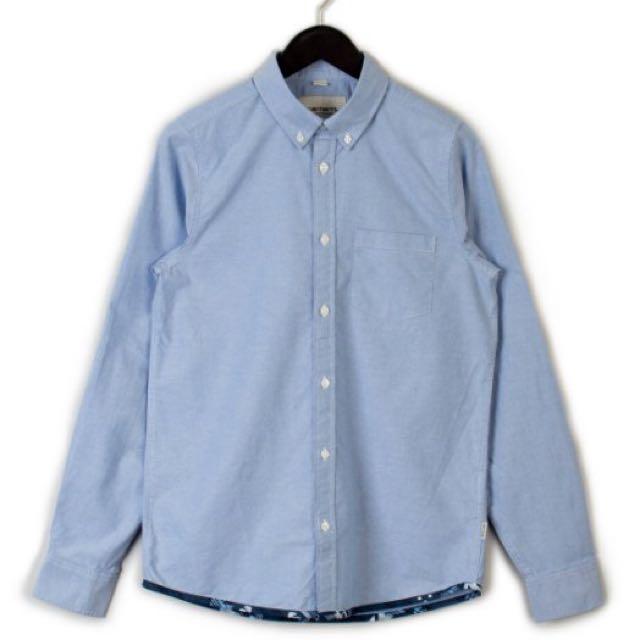 Carhartt WIP Buster Oxford Shirt 歐洲限定 牛津襯衫 藍色 全新正品 M