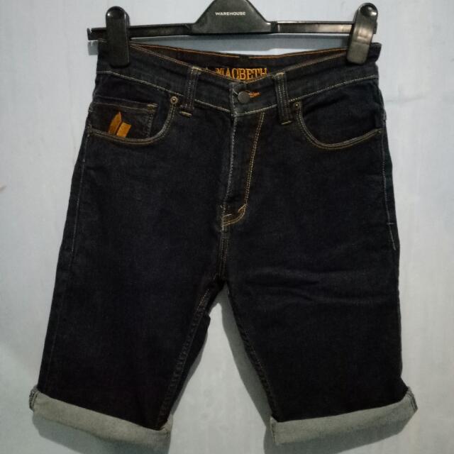 Celana Pendek Jeans Macbeth