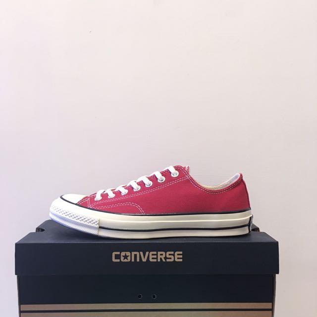 [2/23停售]Converse 1970 1970s 酒紅 帆布鞋
