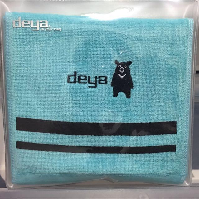 deya 熊運動型長條毛巾
