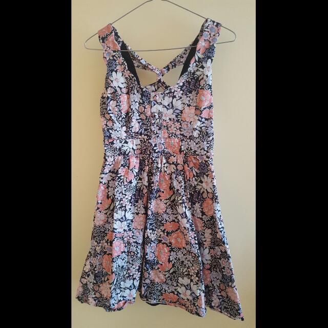 Dress - Floral Dotti - Size 8