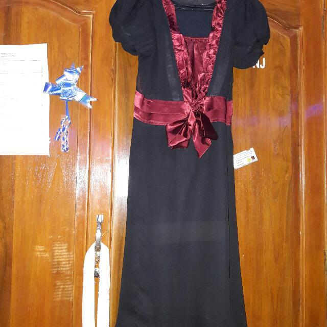 Dress Pendek Hitam Lucu