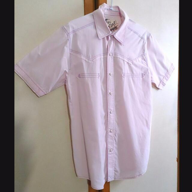 EDWIN 505 短袖襯衫 (男)