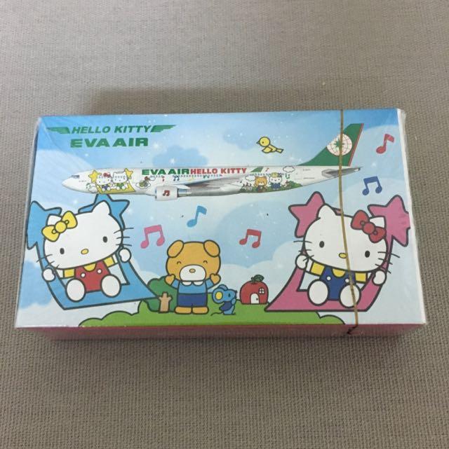 EVA長榮航空Hello Kitty撲克牌