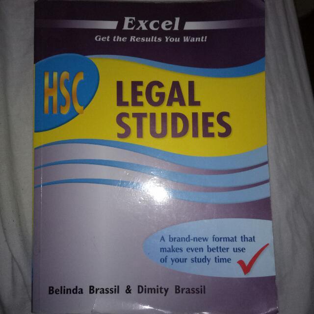 Excel HSC Legal Studies Textbook