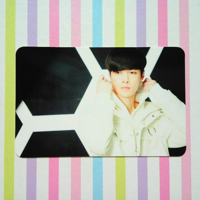 EXO Japan Coming Over Photocard - Lay / Yixing