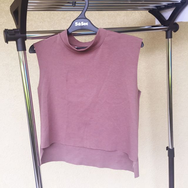 FIXED PRICE - Comfy Brown Top
