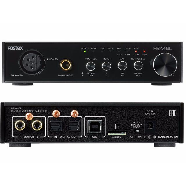 [BLACK FRIDAY PROMO TILL 25TH NOV] Fostex HP-A4BL High-Resolution DAC / Balanced Headphone Amplifier