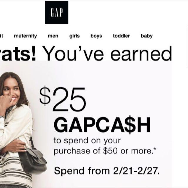 Gap Cash