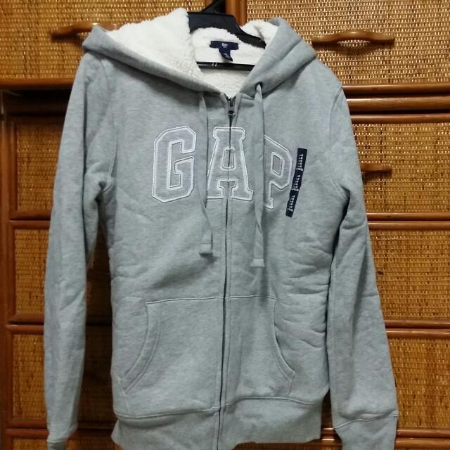 GAP灰色熊寶寶外套(M)