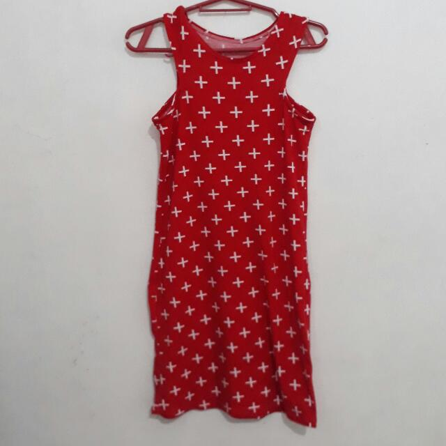 Halter Red Dress