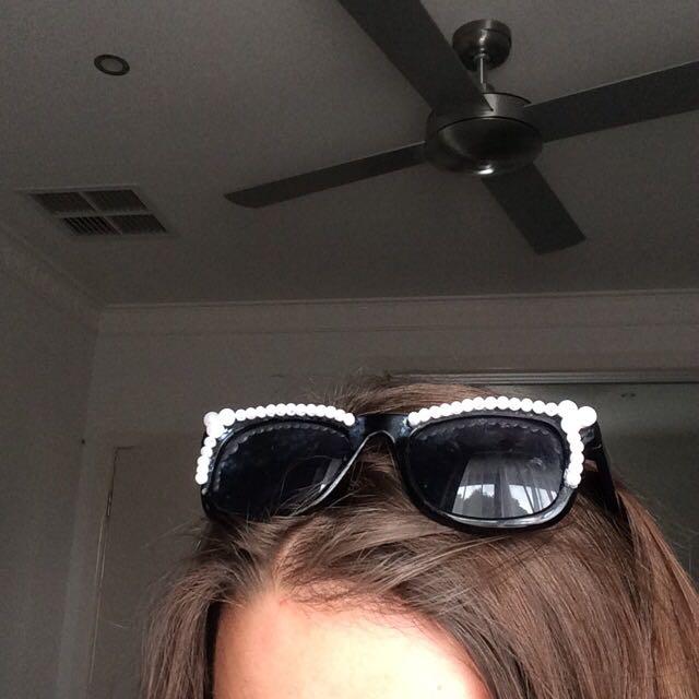 Handmade Pearl Sunglasses
