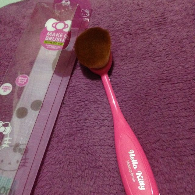 Hell Kitty Paddle Brush