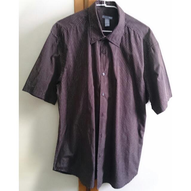 H&M 短袖襯衫 (男)