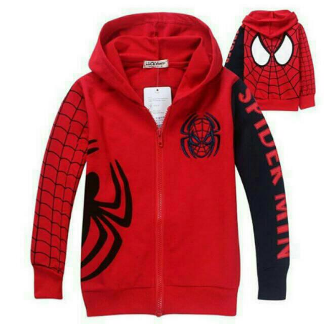 Jacket Karakter Spiderman