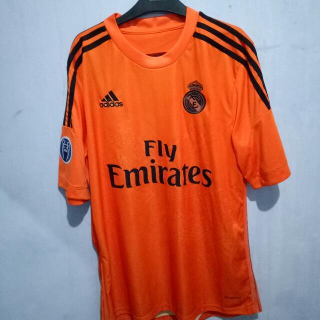 Jersey Madrid Adidas Orange