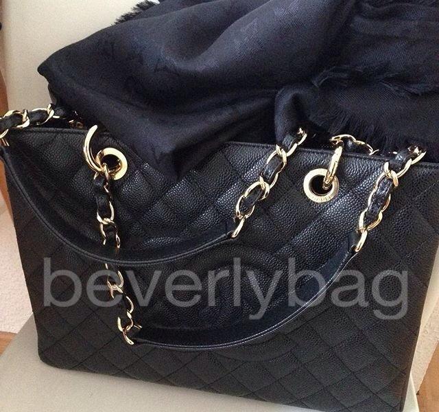 7214fed0ec21 jual tas bag Chanel GST Caviar GHW ORI LEATHER MIRROR - black, Olshop  Fashion, Olshop Wanita on Carousell