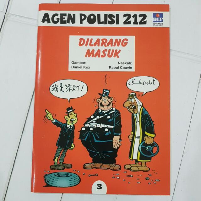 """Komik Agen Polisis 212 """"Dilarang Masuk"""""""