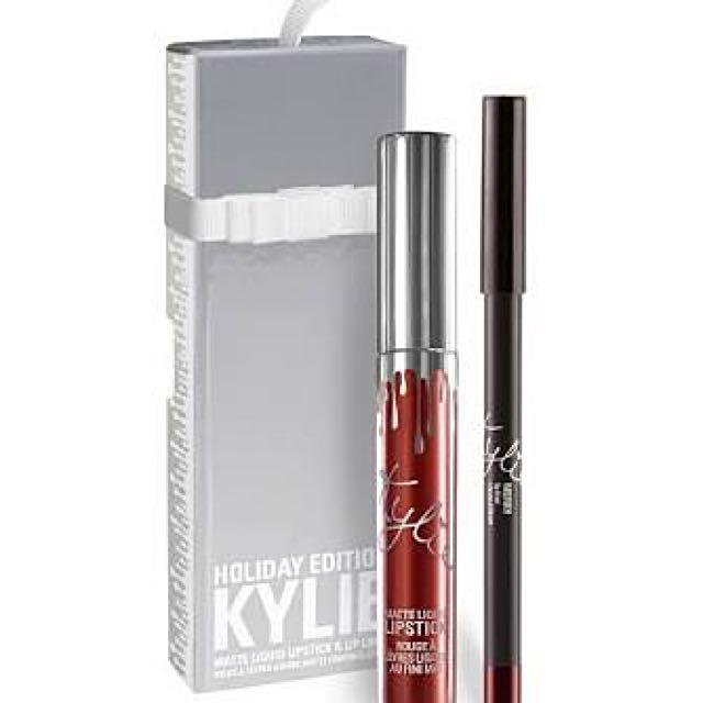 Kylie Lip Kit Merry
