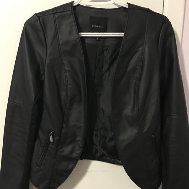 Leather Black Jacket