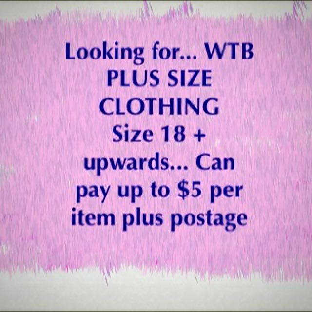 Looking For Plus Size City Chic, Autograph Any!