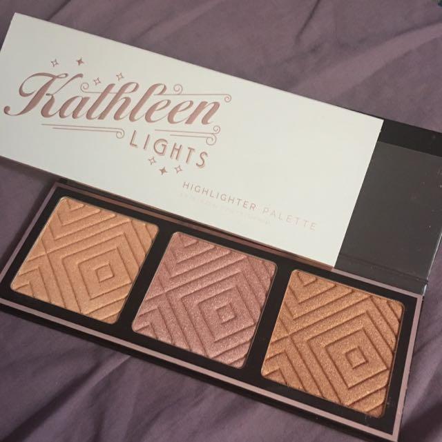 Make Up Geek x Kathleen Lights Highlighter Palette