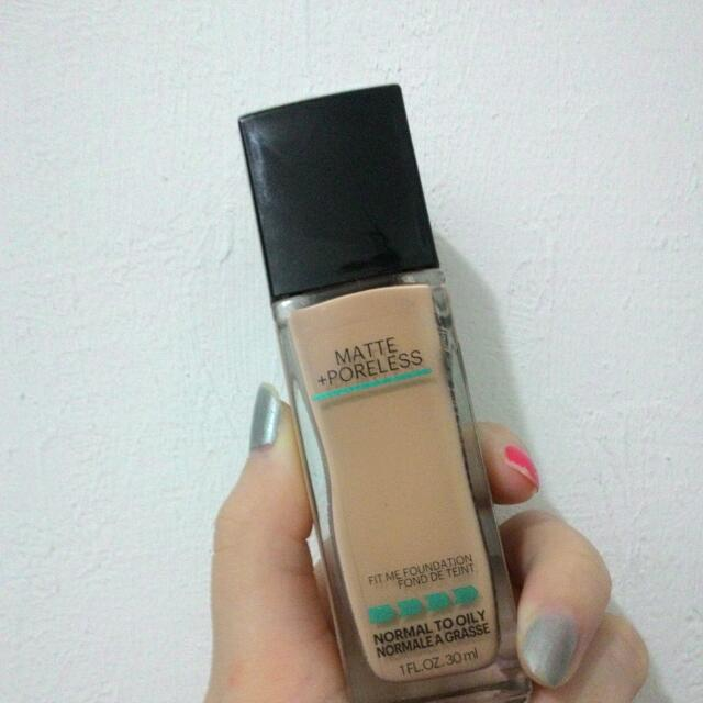 Maybelline FIT ME#125
