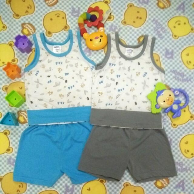 MIFFY Baby Singlet With Short 3-6m