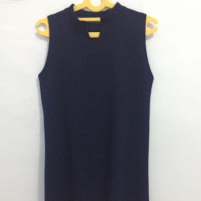 Mini Dress Bkk Navy