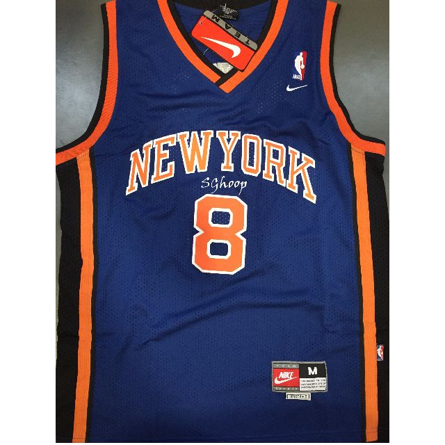 reputable site 0f2f8 ddcd8 NBA New York Knicks Latrell Sprewell Swingman Jersey, Sports ...
