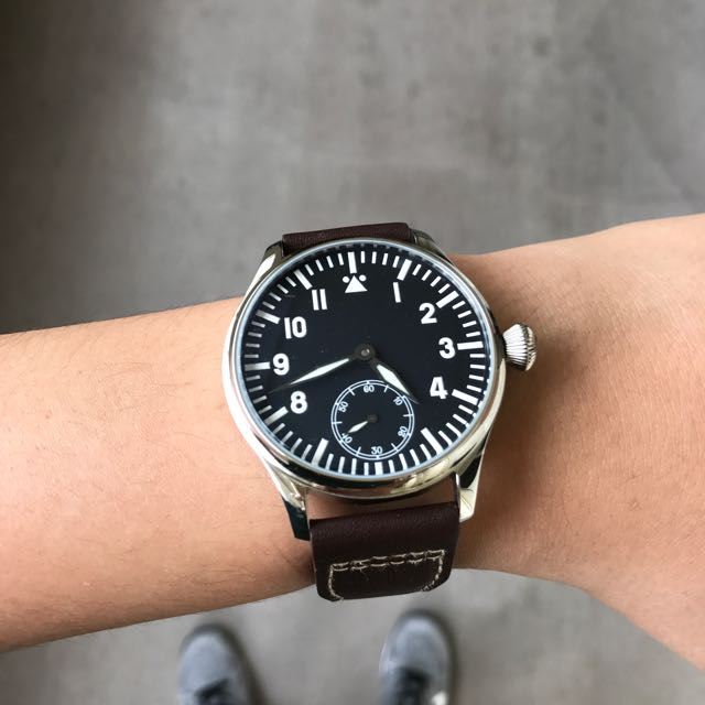 Parnis Sterile Pilot Flieger Mens Fashion Watches On Carousell