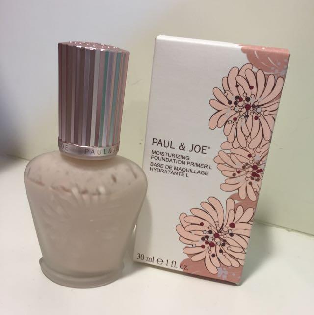 PAUL&JOE糖瓷光釉保濕隔離乳01
