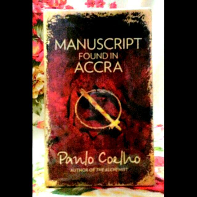 Paulo Coelho - Manuscript From Acra