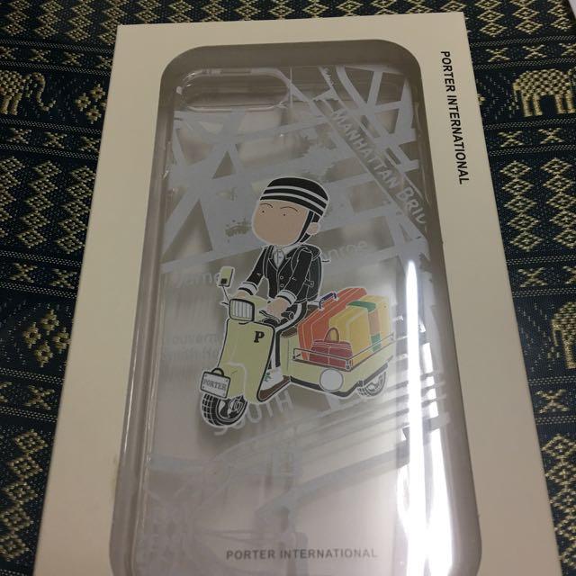 PORTER透明手機殼/iPhone 7 Plus