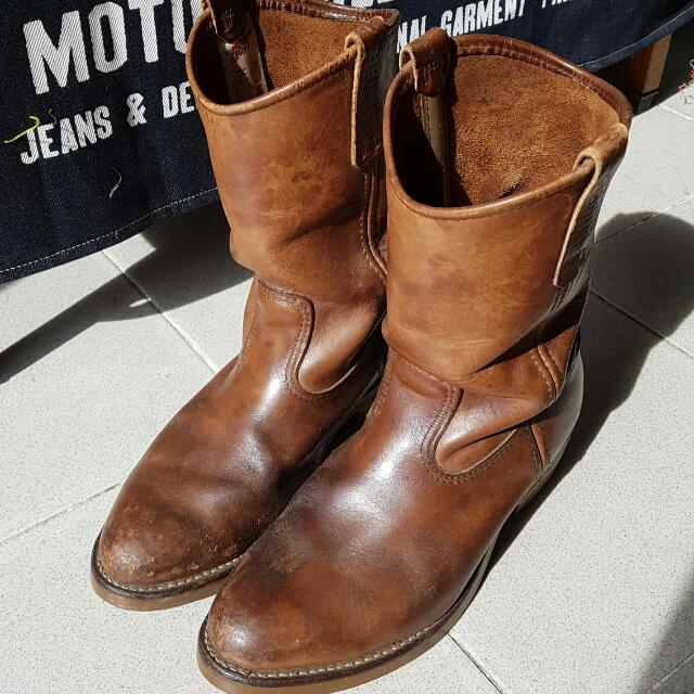 40a5f5222f6 Redwing Pecos 1155 Classic Rancher Boots Size 8, Men's Fashion ...