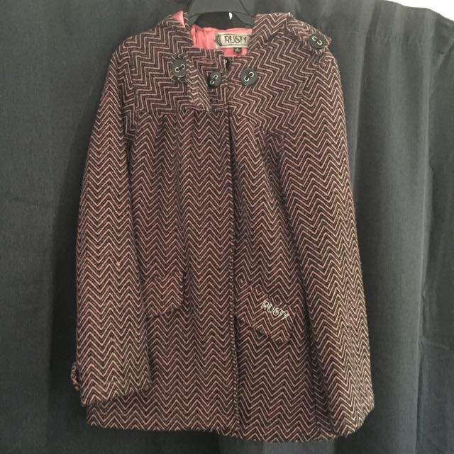 Rusty Winter Coat Sz12