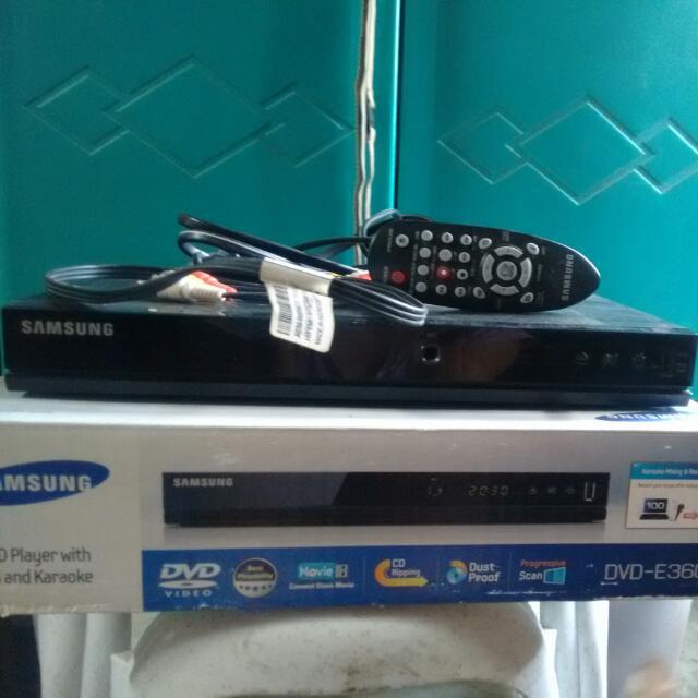 RESERVED: Samsung DVD Player