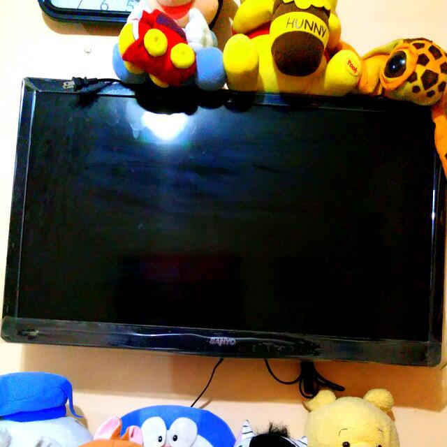sanyo 32' flat tv