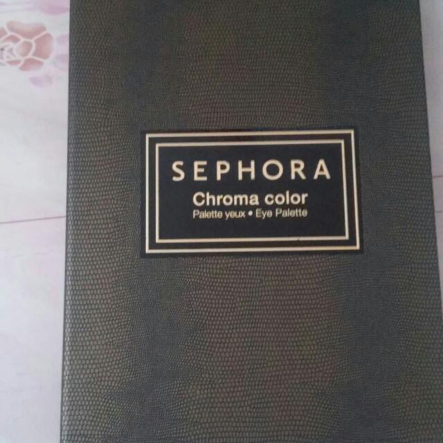 Sephora Chroma Eye Palette