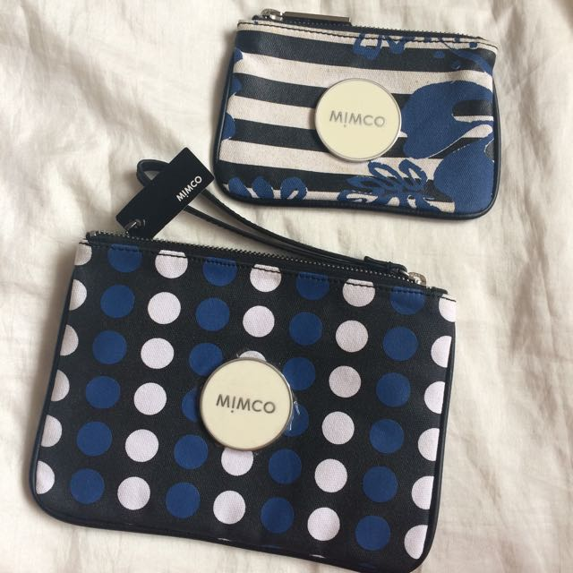 Set Of 2 Mimco Pouches