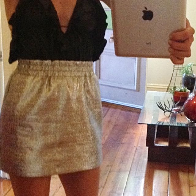 Silver Finders Keepers Skirt