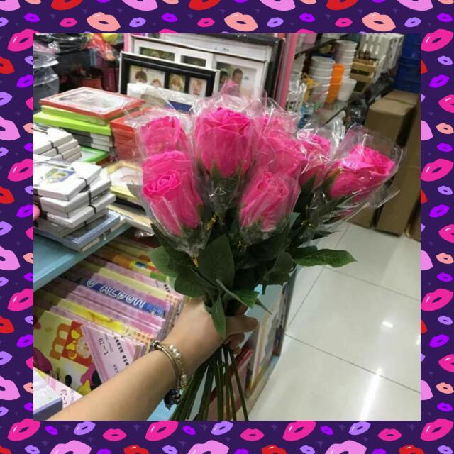 Single Soap Flower