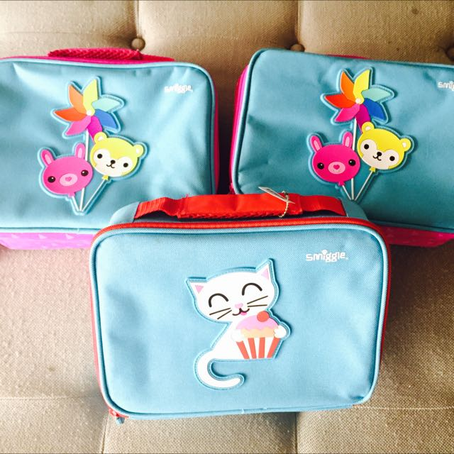 Smiggle Lunch boxes