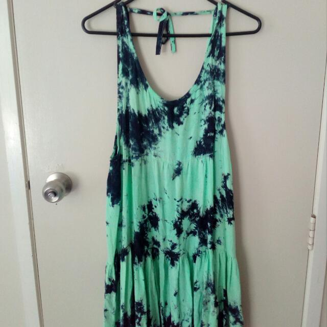 Tie-dye Beach Dress