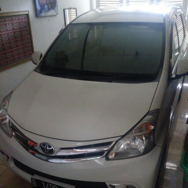 Toyota Avanza 1.5 G 2012